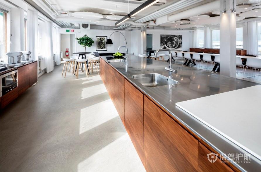北欧风格办公室茶水区装修效果图