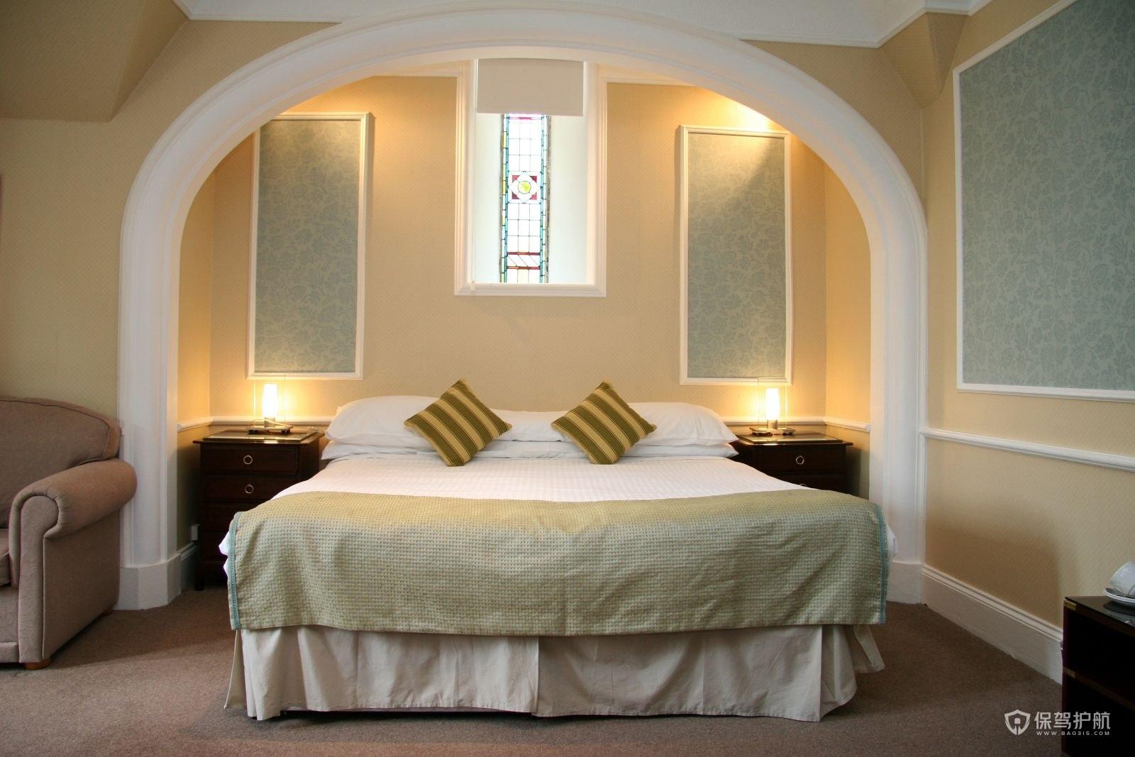 歐式酒店客房怎么裝修?歐式酒店客房裝修效果圖