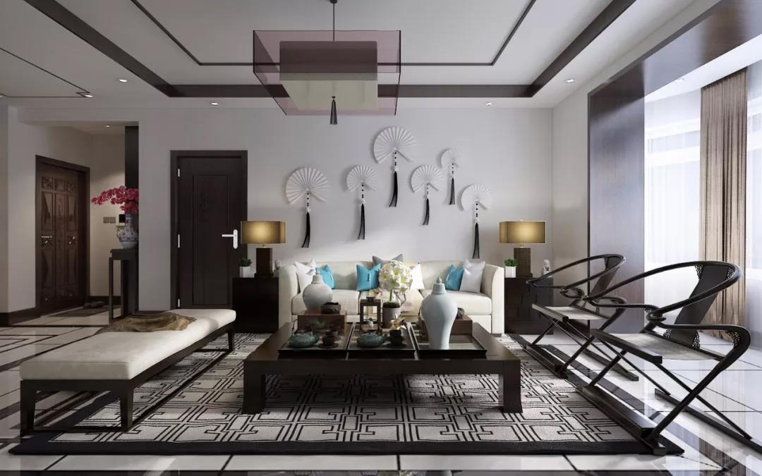 高颜值的两居室,古风韵味优雅天成,让家人尽享舒适生活!