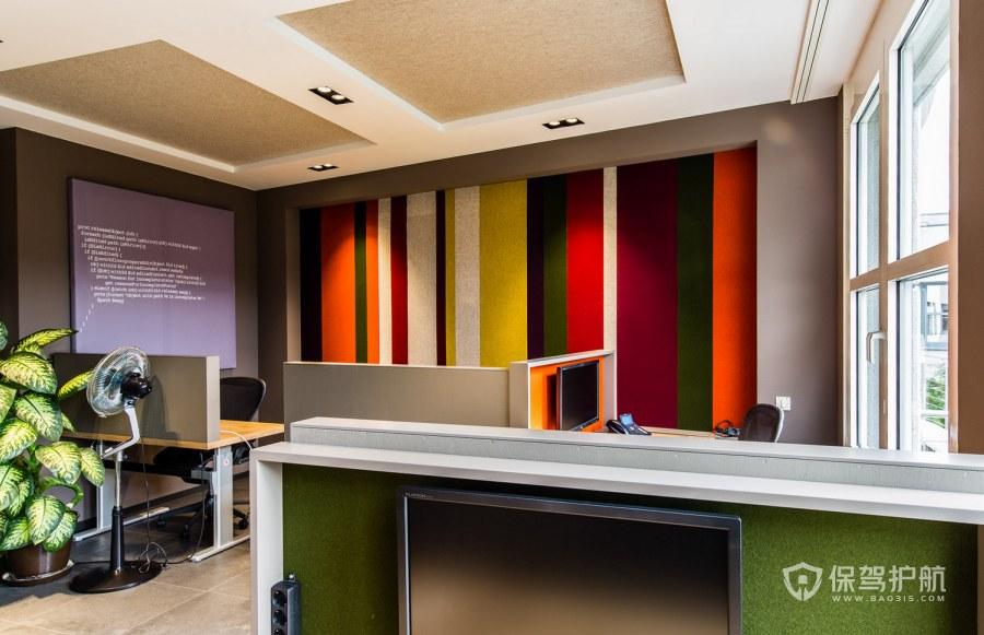 古典風格辦公室辦公區裝修效果圖