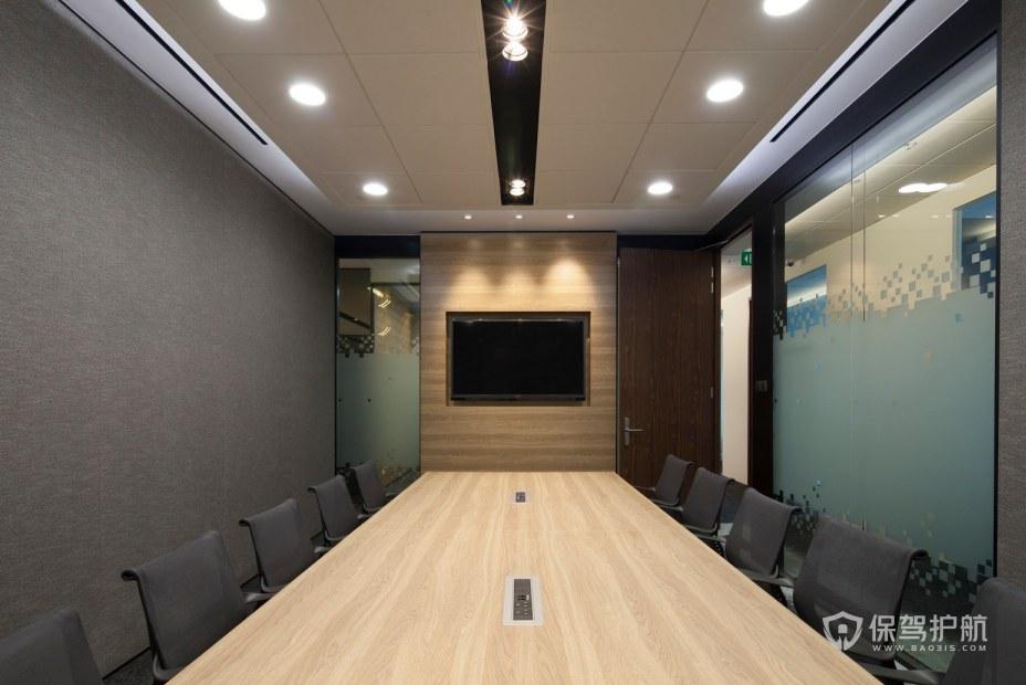 簡約風格辦公會議室裝修效果圖