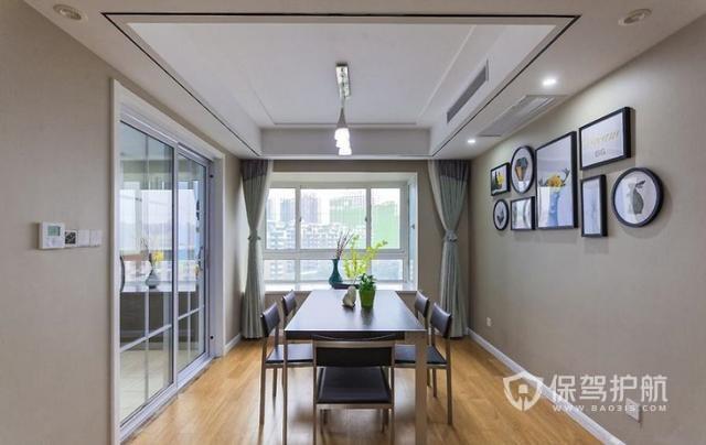 160平米現代簡約新房裝修效果圖-保駕護航裝修網
