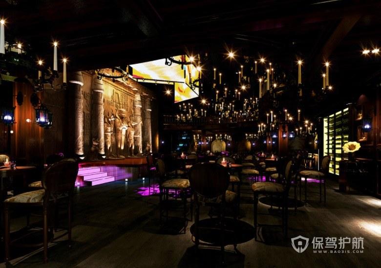 巴洛克复古时尚酒吧装修效果图