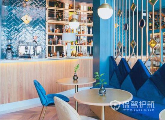 地中海风格餐厅收银台装修效果图