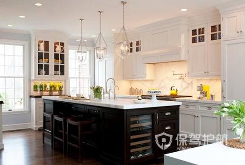 中西雙廚房效果圖 中西廚房的裝修設計技巧有哪些?