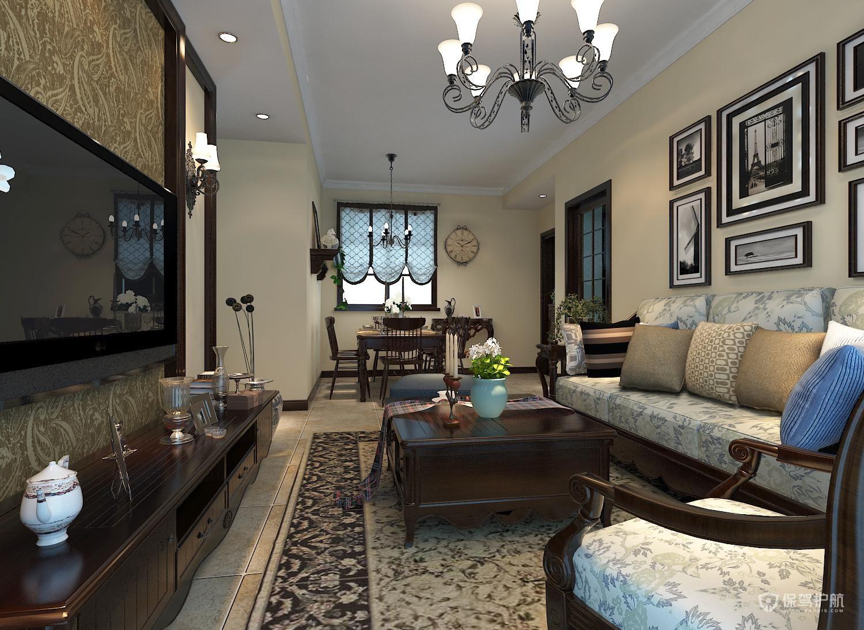 客厅茶几电视柜怎么搭配?现代简约茶几电视柜图片