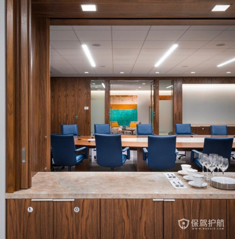创意美式办公会议室装修效果图