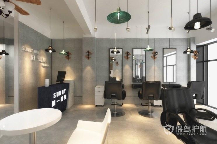 小理发店装修什么风格合适?小理发店如何装修设计?