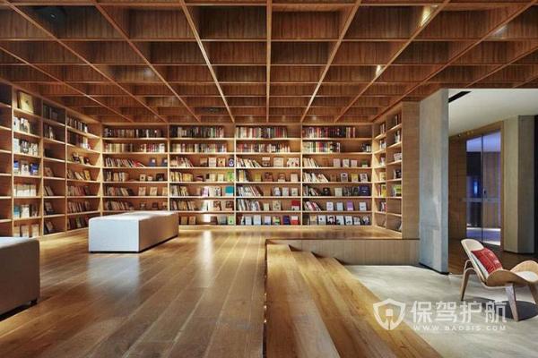 圖書館室內設計,圖書館怎么裝修好?