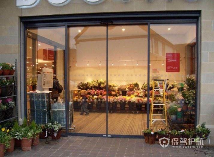 店铺装玻璃门多少钱?如何动手安装店铺玻璃门?
