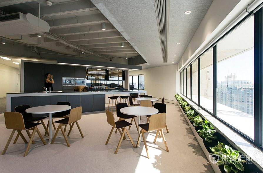 后现代风格办公室茶水区装修效果图