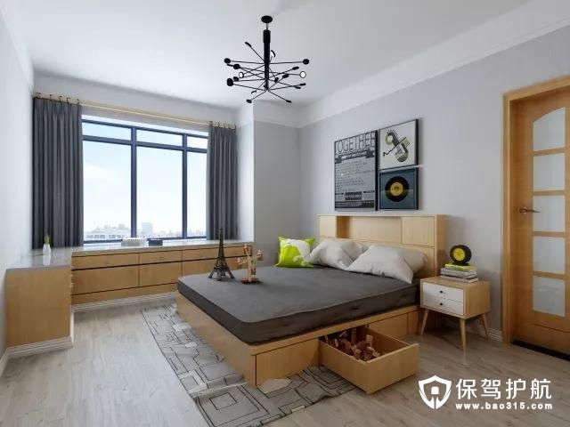 家设计 枣庄誉德华府 现代北欧风格 装修设计方案鉴