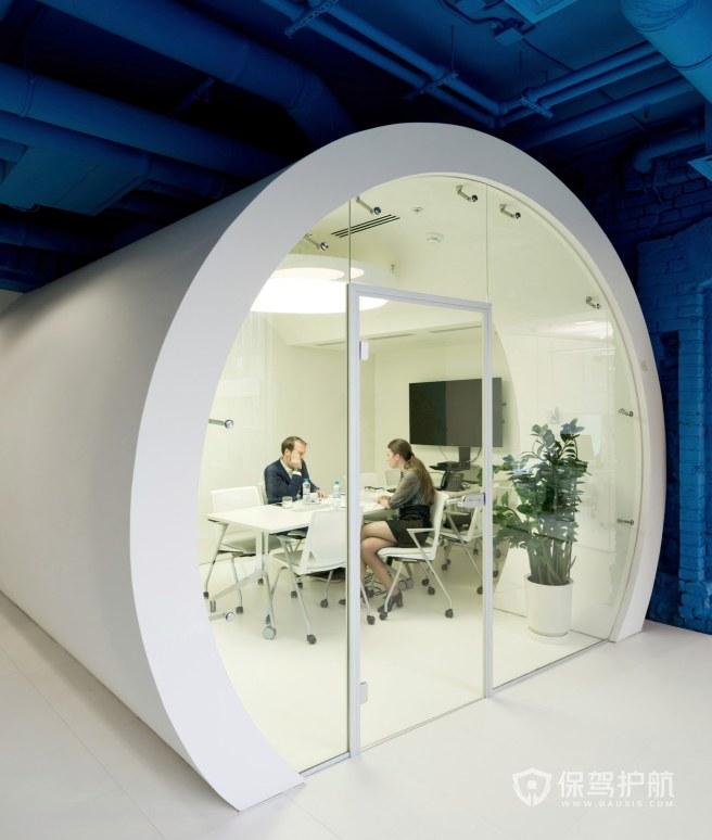 小户型办公培训室装修效果图