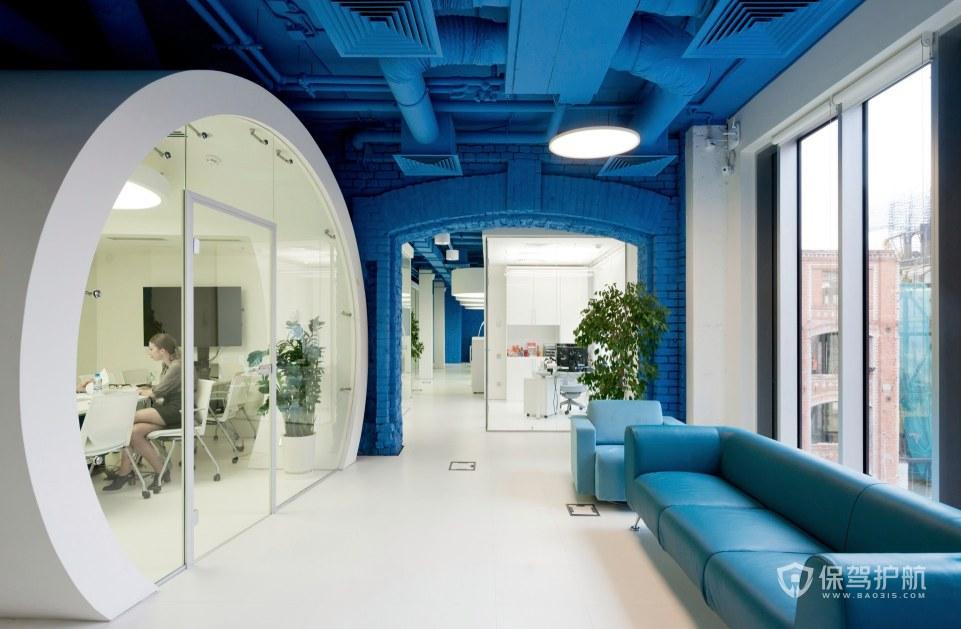 小户型办公室接待区装修效果图