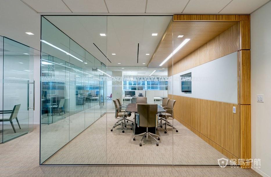 現代簡約辦公會議室裝修效果圖