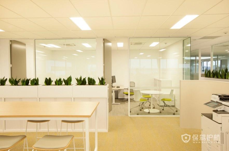 后现代办公财务室装修效果图
