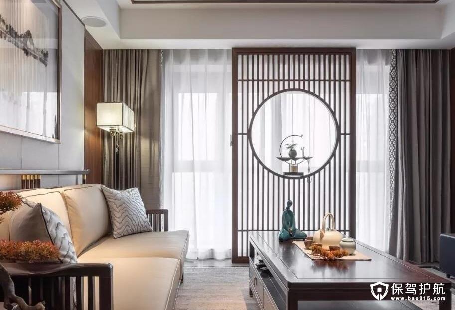中建悦海120㎡中式风格装修效果图