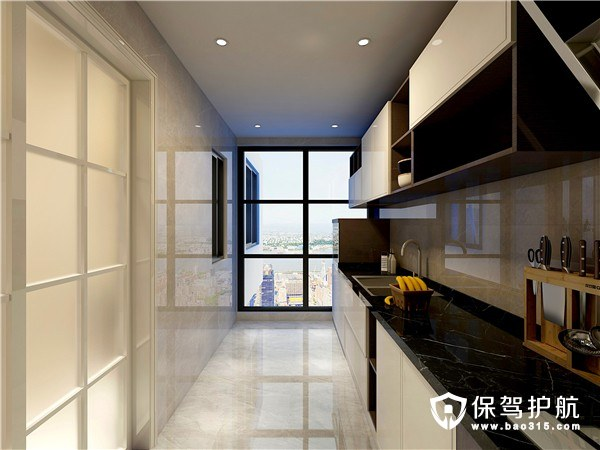山语世家现代风格二居室装修效果图