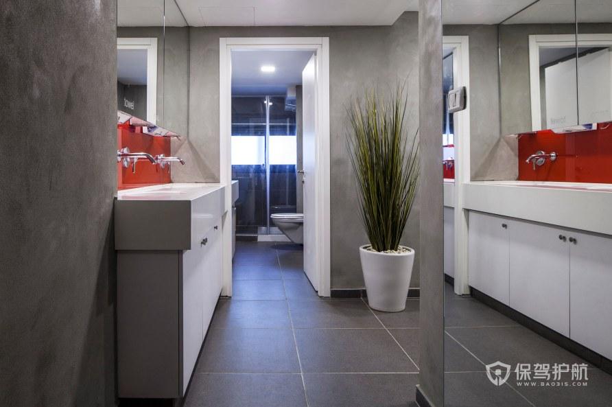 后現代辦公室衛生間裝修效果圖