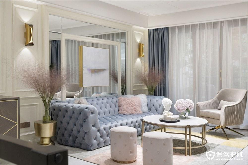 现代轻奢风格三居室装修设计效果图