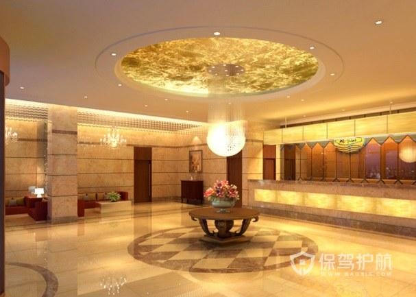 新古典创意豪华酒店装修效果图