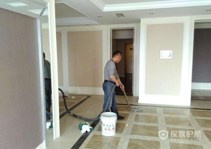 装修后地面残留物质怎么处理?新房装修后怎么做大扫除?
