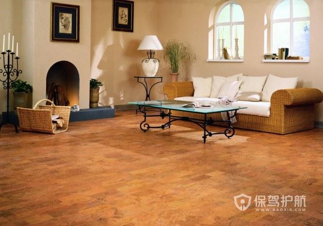 软木地板的优缺点是什么?家装选择纯软木还是软木夹心地板?
