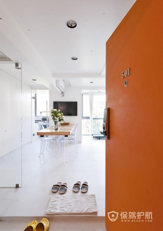 自己设计每平米造价近4000,91㎡开放式装修,自带健身房天窗