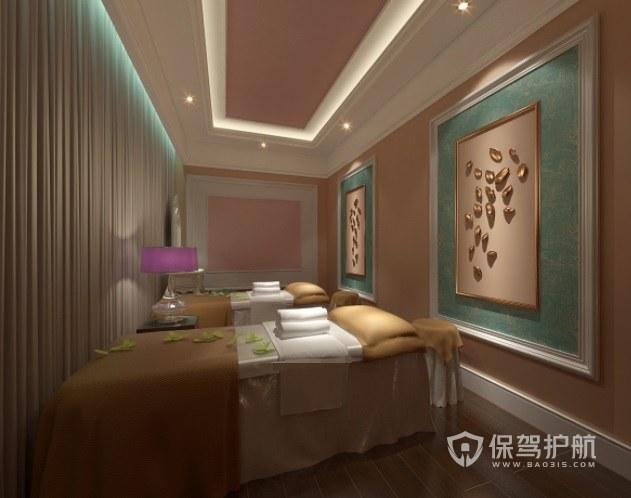 新古典法式美容院房间装修效果图