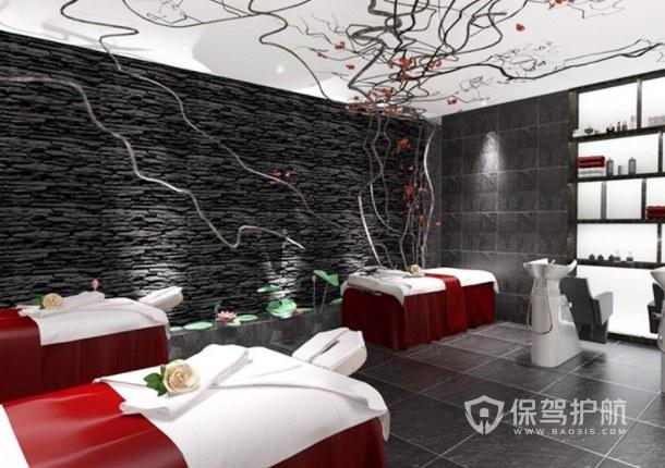 现代创意美容店房间装修效果图