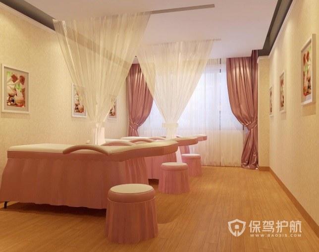 简约公主风美容院房间装修效果图