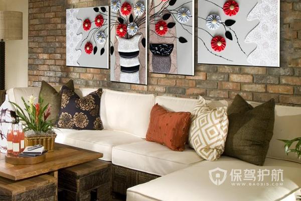 中式客厅装饰画怎么选?中式客厅装饰画效果图