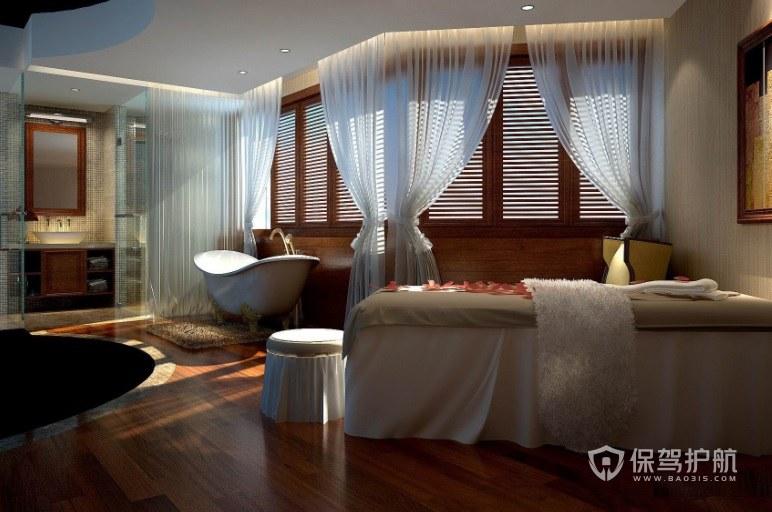米兰温馨时尚美容院房间装修效果图