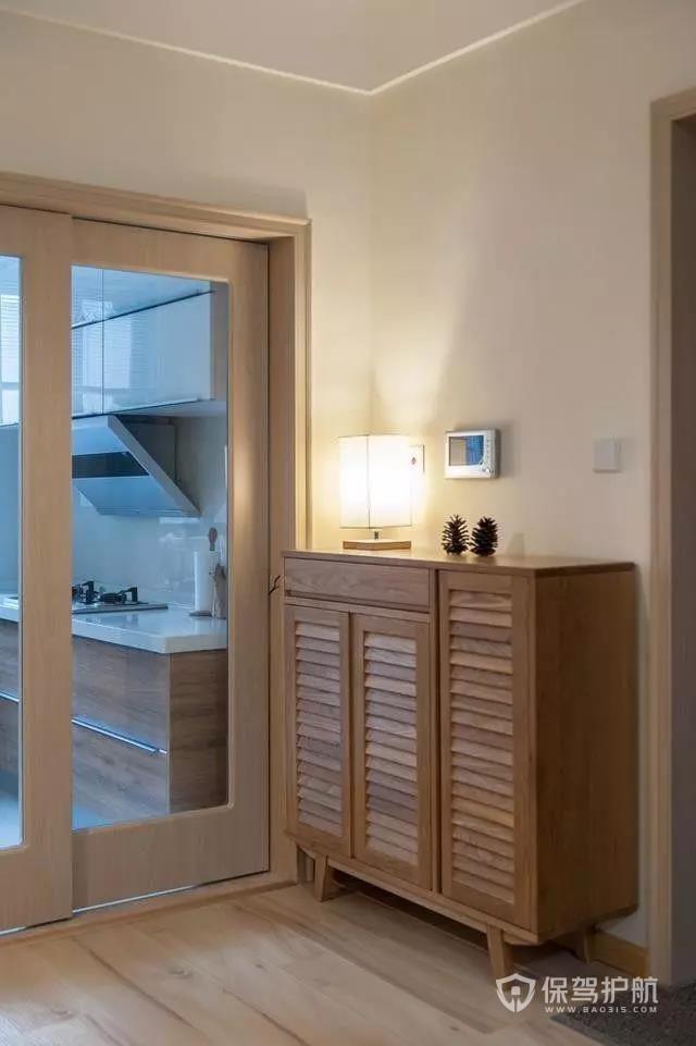 95㎡三室兩廳簡約原木風格,溫馨舒適的優雅之家!