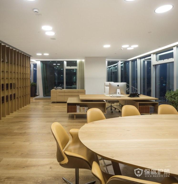 日式风格领导办公室装修效果图