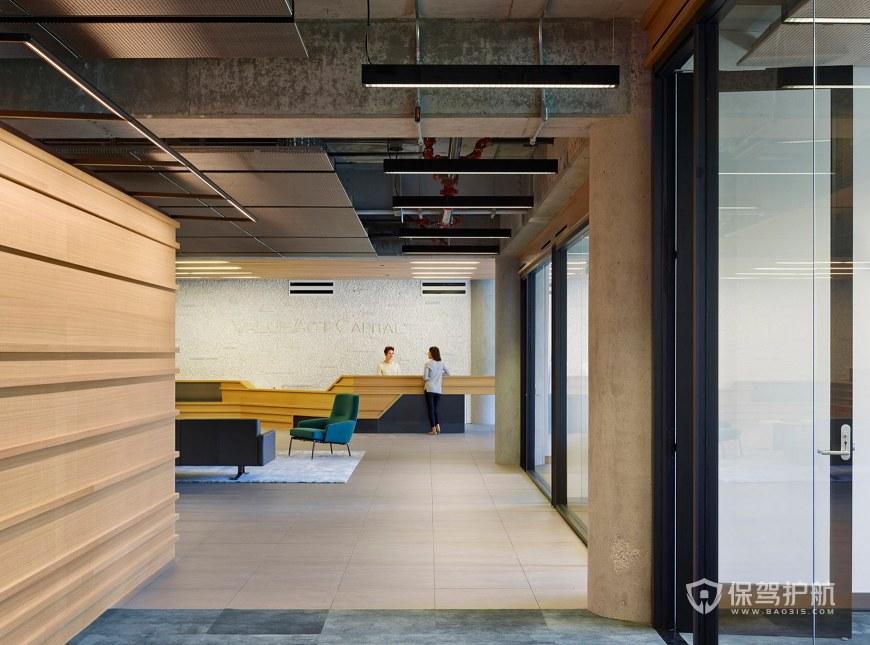 后现代办公室门厅装修效果图