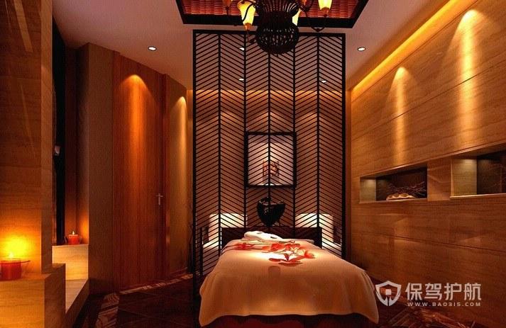 新古典创意美容院房间装修效果图