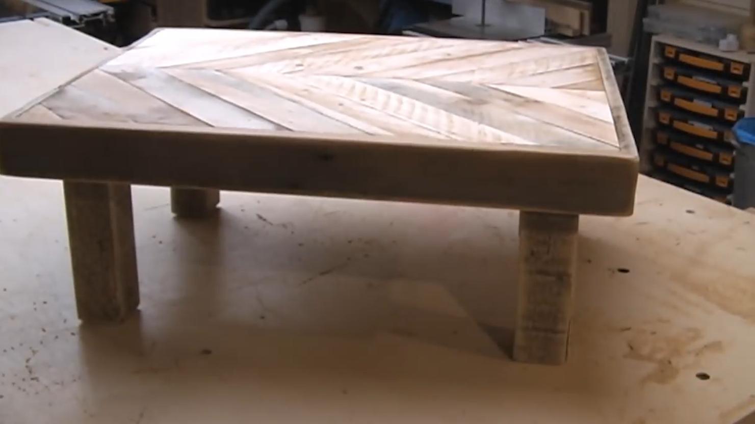 怎么做桌子 如何利用废旧木头做桌子