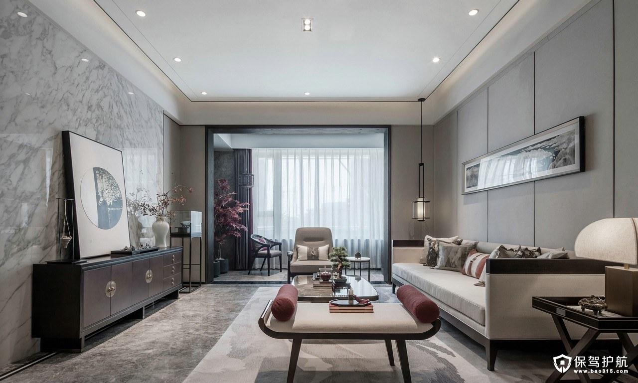 清雅秀丽的新中式风格四居室装修效果…