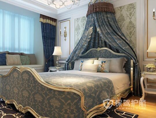 欧式卧室装修地中海混搭风格