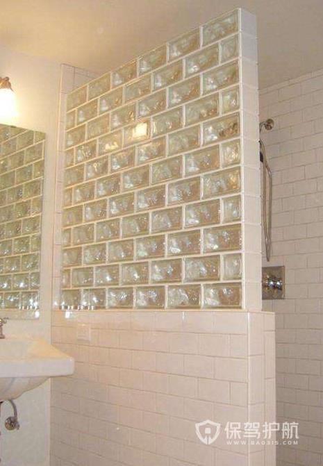 玻璃砖隔断墙优缺点,玻璃砖隔断有哪些种类