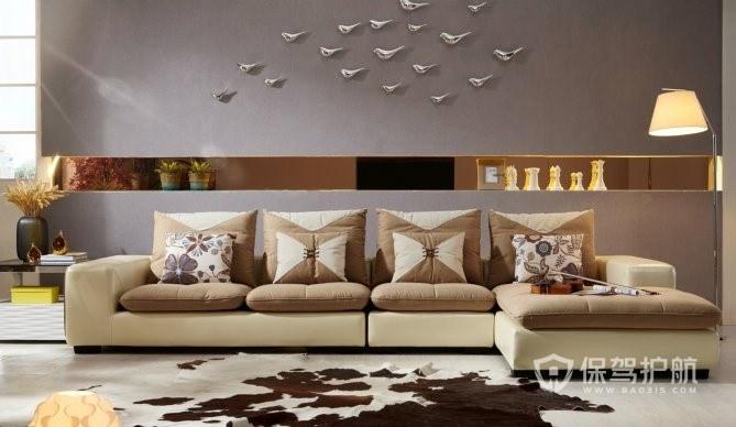 极具创意的客厅沙发搭配效果图
