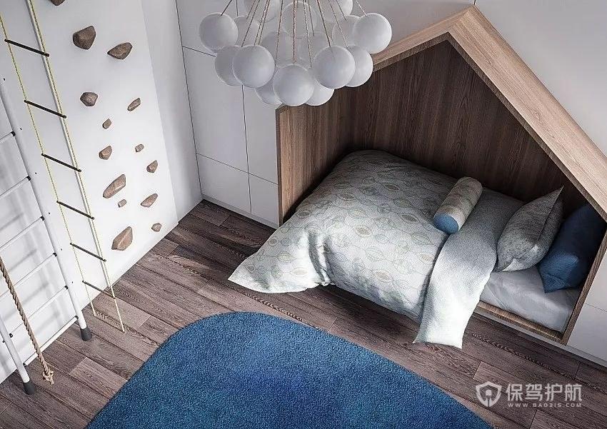 极具个性的极简卧室榻榻米装修效果图…