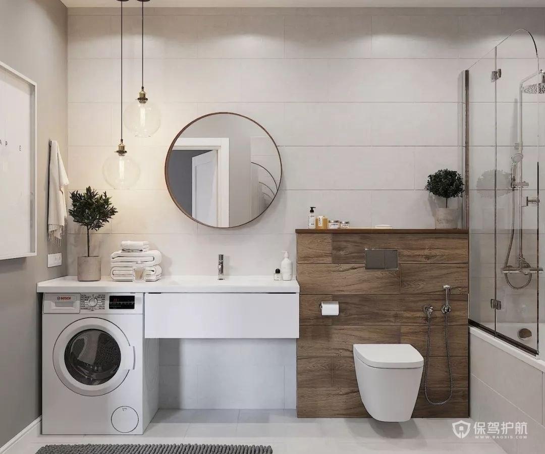 小户型现代紧凑卫生间装修设计