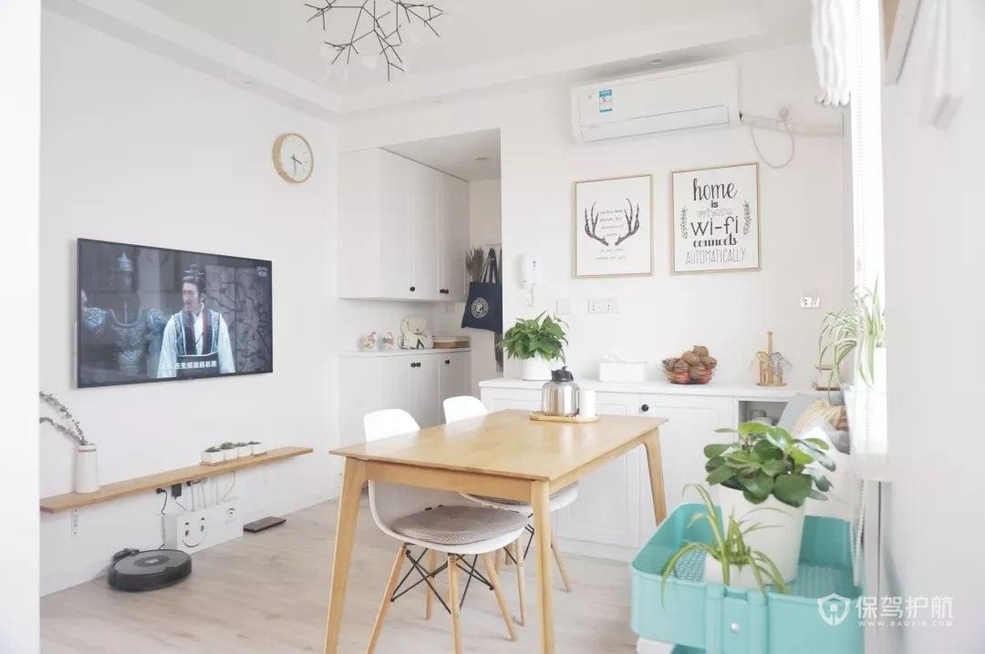 loft小客厅简约装修设计效果图