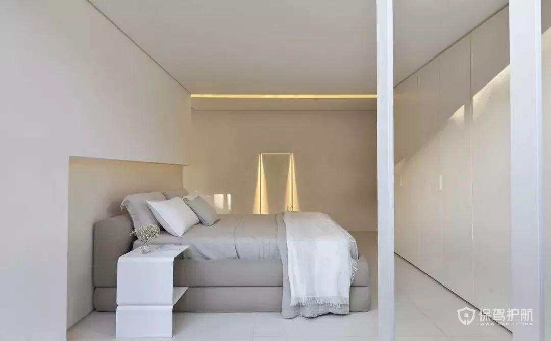 30平米户型卧室极简装修效果图