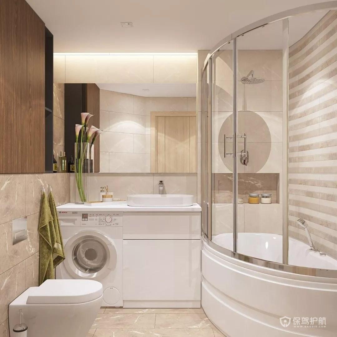 欧式淋浴房装修效果图