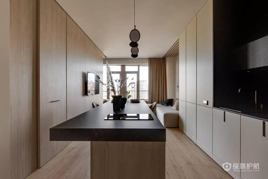 小户型单身公寓定制餐桌效果图