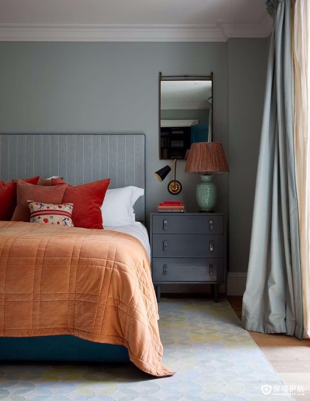 北欧与现代结合混搭风格三居室装修效…