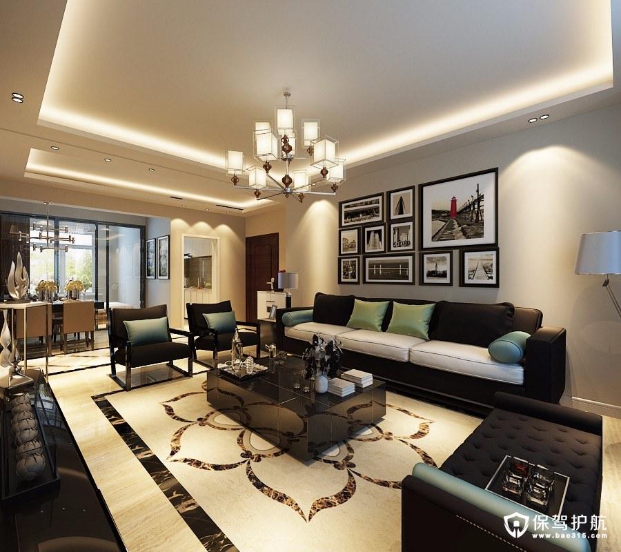 重视清奢现代简约风格二居室装修效果…